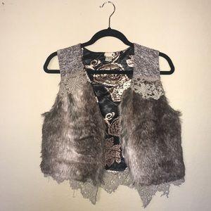 Gimmicks Faux Fur Vest